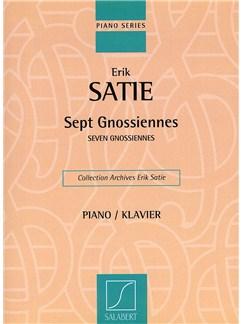 Erik Satie: Seven Gnossiennes Books | Piano