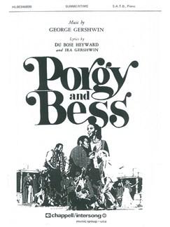 George Gershwin: Summertime (SATB) Books | SATB, Piano Accompaniment