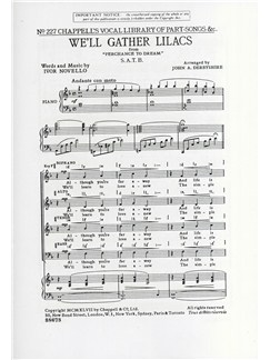 Ivor Novello: We'll Gather Lilacs (SATB) Books | SATB
