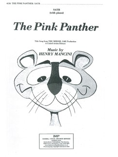 Henry Mancini: The Pink Panther Books | SATB, Piano Accompaniment
