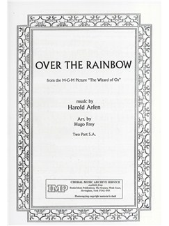 Harold Arlen: Over The Rainbow (2-Part) Books | 2-Part Choir