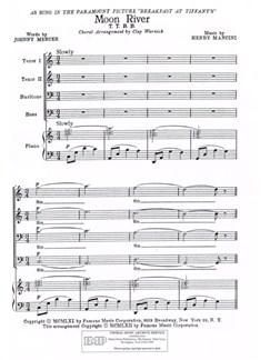 Henry Mancini: Moon River TTBB Books | TB