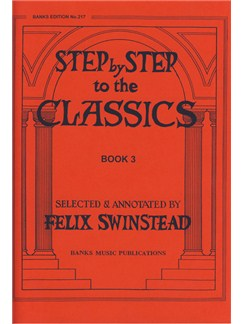 Step By Step To The Classics: Book 3 Books | Piano