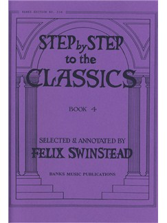 Step By Step To The Classics: Book 4 Books | Piano