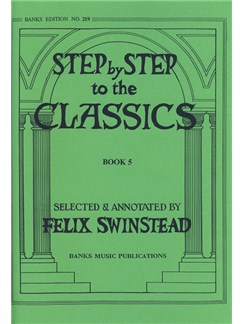 Step By Step To The Classics: Book 5 Books | Piano