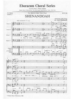 Arr. J. Hindmarsh: Shenandoah (TTBB) Books | TTBB