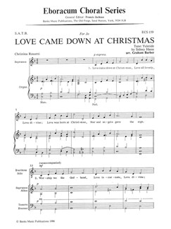 Sydney Hann: Love Came Down At Christmas Books | SATB, Organ Accompaniment