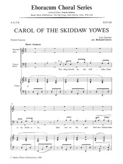 Ivor Gurney: Carol Of The Skiddaw Yowes (SATB) Books | SATB