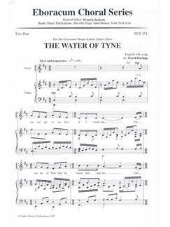 The Water Of Tyne (2-Part) Books | 2-Part Choir, Piano Accompaniment