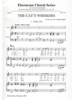 Peter Thorne: The Cat's Whiskers Books | Voice, Piano Accompaniment