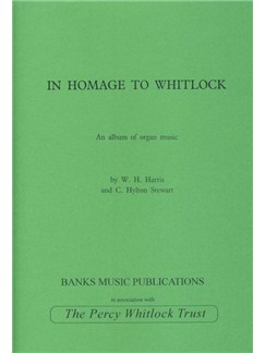 In Homage To Whitlock Vol.1 Books | Organ