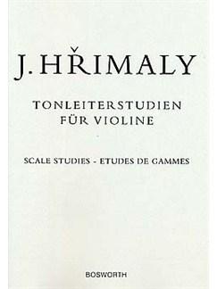 Johann Hrimaly: Tonleiterstudien Für Violine (Scale Studies For Violin) Livre | Violon