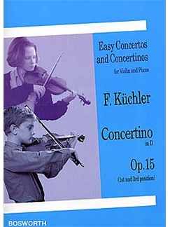 Ferdinand Kuchler: Concertino In D Op.15 (Violin/Piano) Books | Violin, Piano