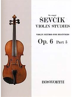 Otakar Sevcik: Violin Studies - Violin Method For Beginners Op.6 Part 5 Books | Violin