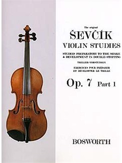 The Original Sevcik Violin Studies Op.7 Part 1 Books | Violin