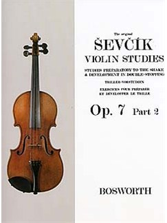 The Original Sevcik Violin Studies Op.7 Part 2 Livre | Violon