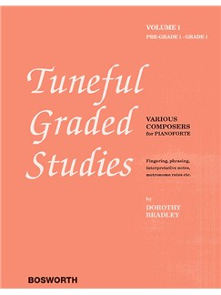 Dorothy Bradley: Tuneful Graded Studies Volume 1 - Pre-Grade To Grade 1 Books | Piano