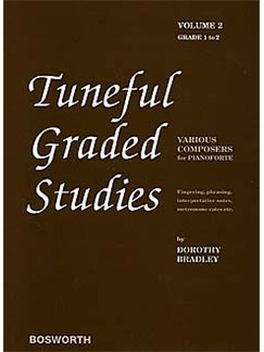 Dorothy Bradley: Tuneful Graded Studies Volume 2 - Grade 1 To 2 Books | Piano