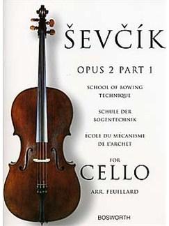 Sevcik Cello Studies: School Of Bowing Technique Part 1 Livre | Violoncelle