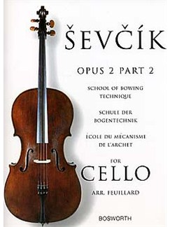 Sevcik Cello Studies: School Of Bowing Technique Part 2 Livre | Violoncelle