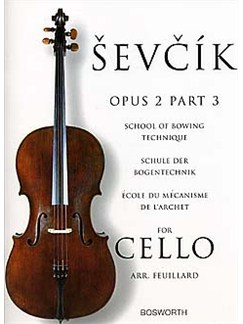 Sevcik Cello Studies: School Of Bowing Technique Part 3 Books | Cello