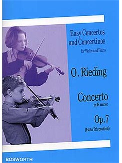 Oskar Rieding: Concerto In E Minor (Violin/Piano) Books | Violin, Piano