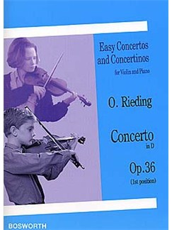 Oskar Rieding: Violin Concerto In D Op.36 (Violin/Piano) Books | Violin, Piano Accompaniment
