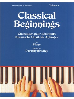 Classical Beginnings Vol.1 Livre | Piano