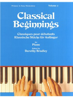Classical Beginnings Volume 2 Books | Piano