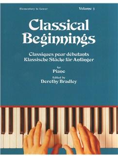 Classical Beginnings Volume 3 Buch | Klavier