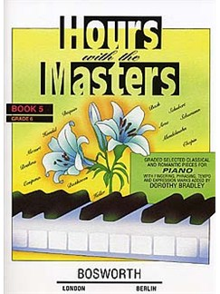 Dorothy Bradley: Hours With The Masters Book 5 Grade 6 Livre | Piano