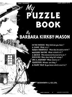Kirkby-mason, B My Puzzle Book Grade 1 Pf Books | Piano