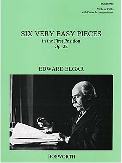 Edward Elgar: Six Very Easy Pieces Op.22 Buch | Bratsche, Klavierbegleitung
