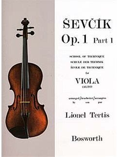 Sevcik Viola Studies: School Of Technique Part 1 Books | Viola