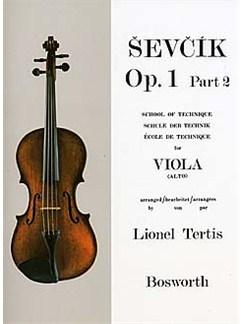 Sevcik Viola Studies: School Of Technique Part 2 Books   Viola