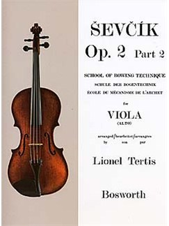 Sevcik Viola Studies: School Of Bowing Technique Part 2 Livre | Viola