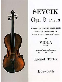 Sevcik Viola Studies: School Of Bowing Technique Part 3 Books | Viola
