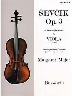 Sevcik Viola Studies: 40 Variations Books | Viola
