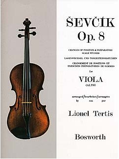 Sevcik Viola Studies: Changes Of Position And Preparatory Scale Studies Livre | Viola