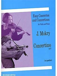 Jiri Mokry: Concertino in G (Violin/Piano) Books | Violin, Piano