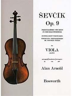 Sevcik Viola Studies: Preparatory Studies In Double-Stopping Op.9 Books | Viola