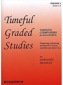 Tuneful Graded Studies Vol.4 Grade 5 To 6 Books | Piano