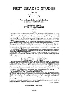 Robjohns, S Five Graded Studies Vln  |