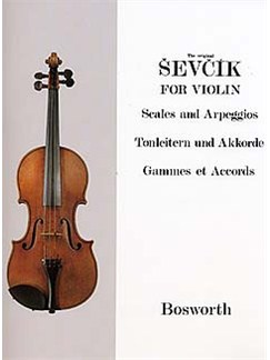 Sevcik Violin Studies: Scales And Arpeggios Books | Violin