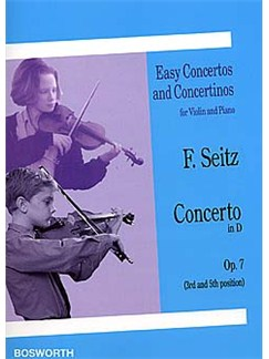 Friderich Seitz: Concerto In D Op.7 (Violin/Piano) Livre | Violon, Accompagnement Piano
