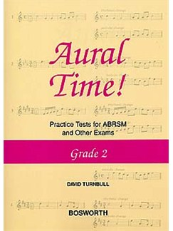 David Turnbull: Aural Time! Practice Tests - Grade 2 Books | Voice, Piano Accompaniment