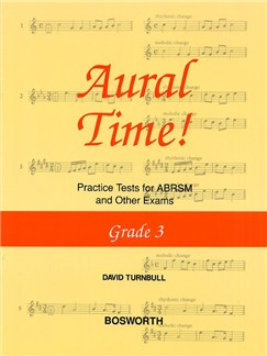 David Turnbull: Aural Time! Practice Tests - Grade 3 Books | Voice, Piano Accompaniment