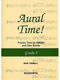 David Turnbull: Aural Time! Practice Tests - Grade 5 Books | Voice, Piano Accompaniment