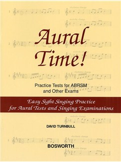 David Turnbull: Aural Time! Easy Sight Singing Practice Books | Voice, Piano Accompaniment