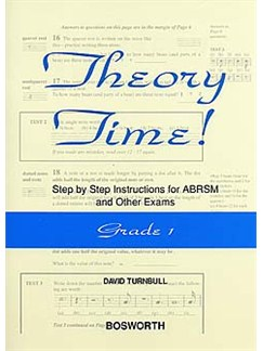 David Turnbull: Theory Time - Grade 1 Books |